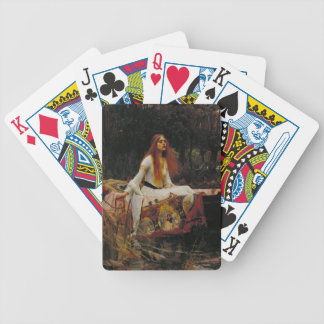 Lady of Shallot Pre-Raphaelite Painting Poker Deck