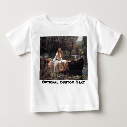 Lady of Shalott Baby T-Shirt