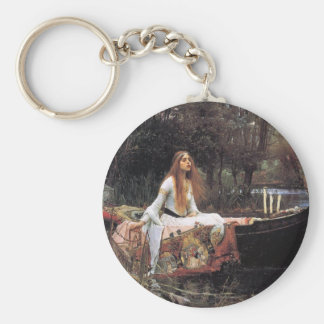 Lady of Shalott Basic Round Button Keychain
