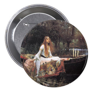 Lady of Shalott Buttons