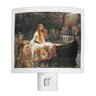 Lady of Shalott by John Waterhouse Night Lite