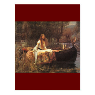 Lady of Shalott by John Waterhouse Postcard