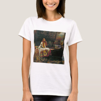 Lady of Shalott in Her Boat T-Shirt
