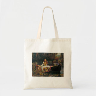 Lady of Shalott in Her Boat Tote Bag