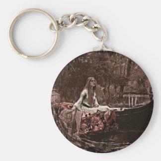 Lady of Shalott Key Chain