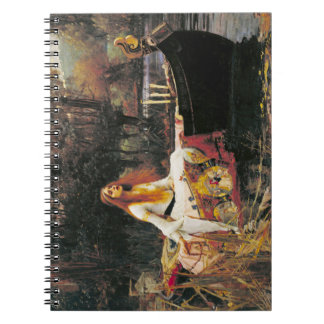 Lady of Shalott Notebook