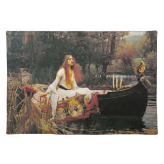 Lady of Shalott Placemat Cloth Placemat