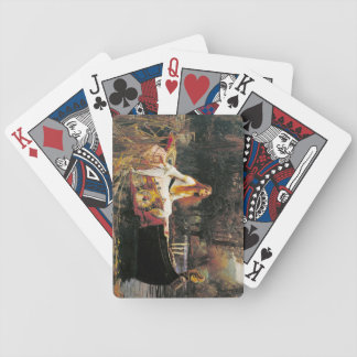 Lady of Shalott Playing Cards