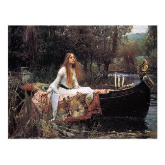 Lady of Shalott Postcard