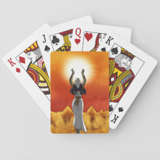 Lady of Sun Playing Cards