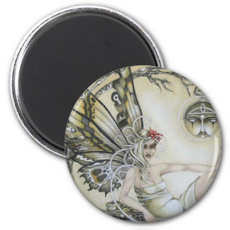 Lady of the Forest Fridge Magnet