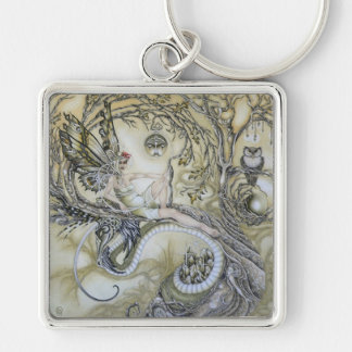 Lady of the Forest Keychain