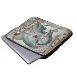 Lady of the Forest laptop sleeve