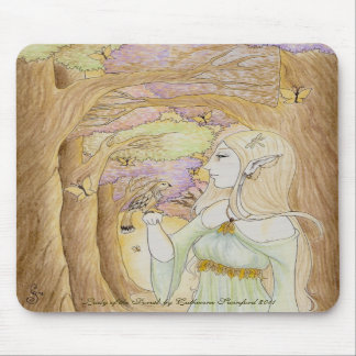 'Lady of the Forest' mousepad