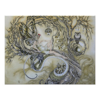 Lady of the Forest Print