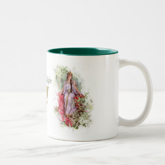 Lady of the Forest Two-Tone Coffee Mug