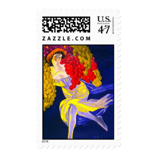 Lady of the Grapes Postage