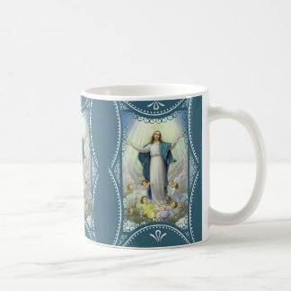 Lady of the Immaculate Conception Angels Coffee Mug