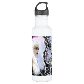 Lady of the January. Water Bottle