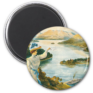 Lady of the Lake ~ Furness Railway Magnet
