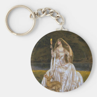 Lady of the Lake Keychain