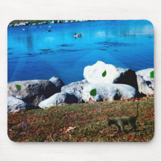 Lady of the Lake Mouse Pad