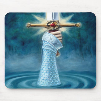 Lady of the Lake Mousepad - Vertical