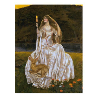 Lady of the Lake Post Card