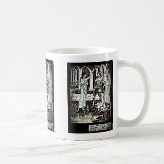 Lady of the Lake Tells About Excalibur Mug