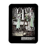Lady of the Lake Tells About Excalibur Rectangular Magnet