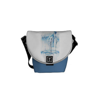 Lady of the Lake (Version 2) Courier Bag