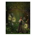 Lady of the Lanterns Postcard