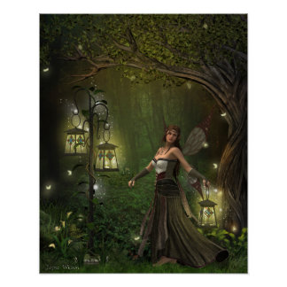 Lady of the Lanterns Print