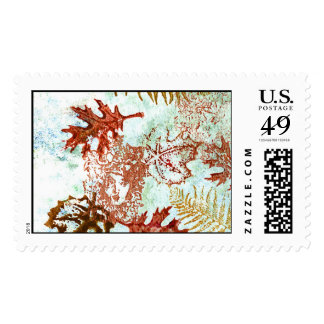 Lady of the Leaves Postage