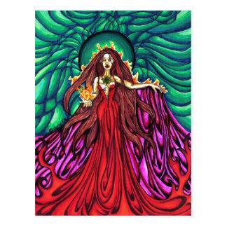 Lady of the Light Postcard
