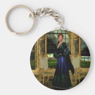 Lady of the Manor Keychain