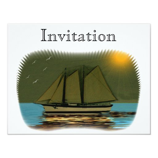 Lady Of The Mist 4.25x5.5 Paper Invitation Card