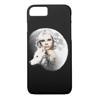 Lady of the Moon iPhone 7 Case