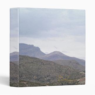 Lady of the Mountain Alamogordo New Mexico 3 Ring Binder