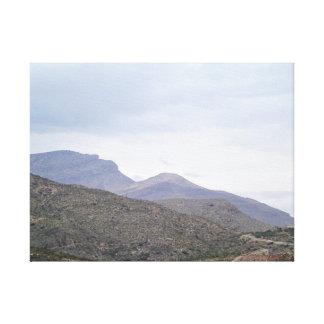 Lady of the Mountain Alamogordo New Mexico Canvas Print