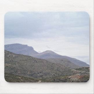 Lady of the Mountain Alamogordo New Mexico Mouse Pad