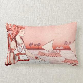 Lady of the Nile lumbar pillow