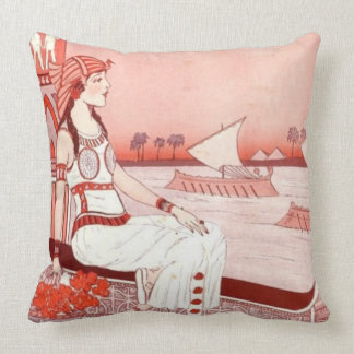 Lady of the Nile pillow