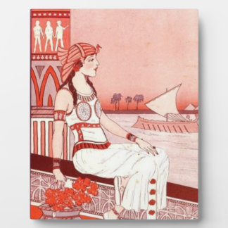 Lady of the Nile plaque