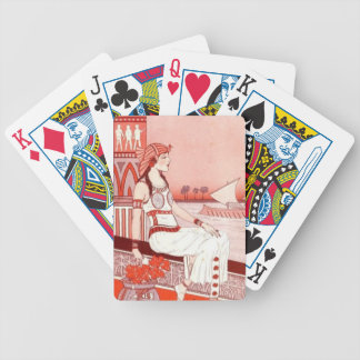 Lady of the Nile playing cards