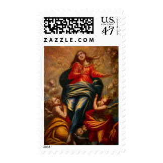 Lady of the Rocks Stamp