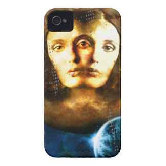 Lady Of Universe Star Fantasy Cosmos Case-Mate iPhone 4 Cases