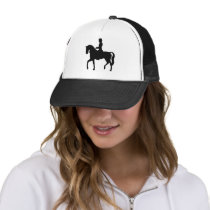 Lady on a Horse Trucker Hat