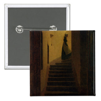 Lady on the Staircase Pin