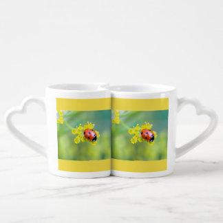lady on top coffee mug set